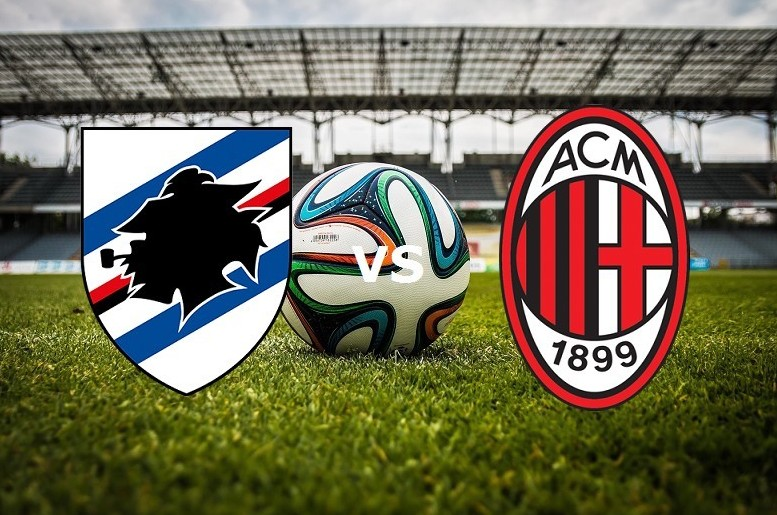 Sampdoria Milan streaming gratis live per vedere partita
