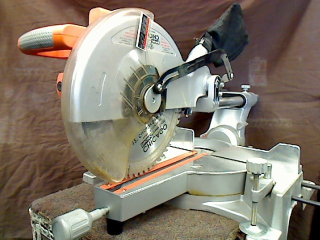 Chicago Electric 10 Sliding Compound Miter Saw 98199