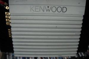 KENWOOD CAR AMP KAC646X For parts or not working | Buya
