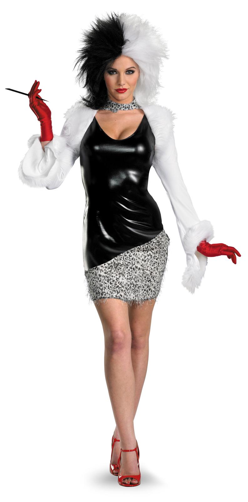 Dalmations Fab Deluxe Cruella De Vil Costume Women