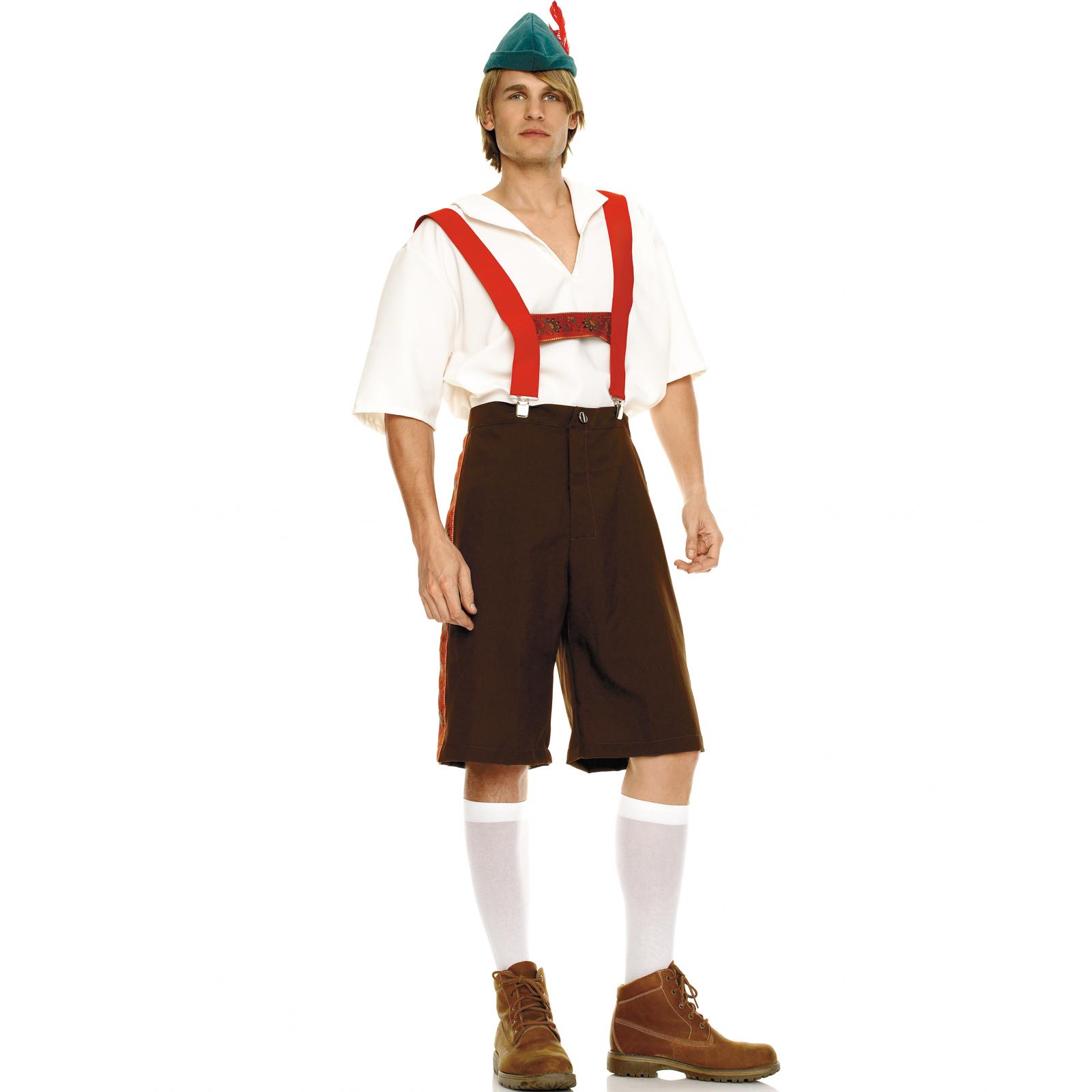Mens Lederhosen Adult Costume