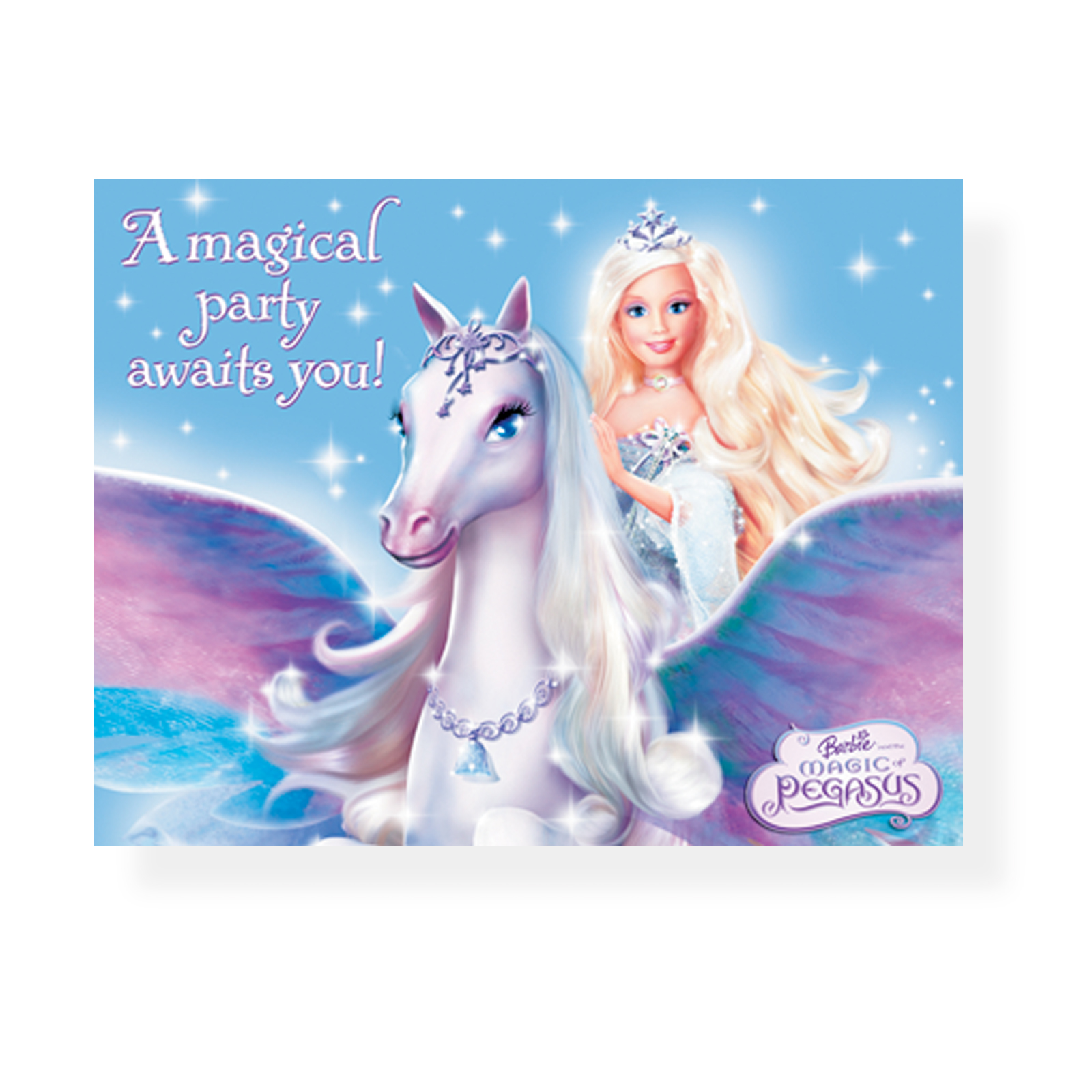 Barbie Pegasus Cute Cartoons Magic