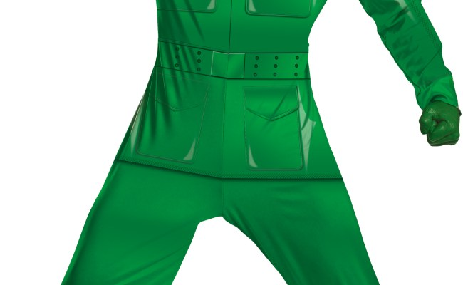 Disney Toy Story Green Army Man Deluxe Plus Adult Costume