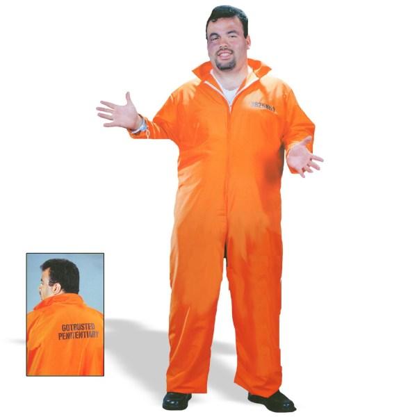 Kmart Halloween Costume - Orange Jumpsuit Democratic