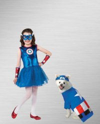 Captain America Costumes & Shields For Halloween