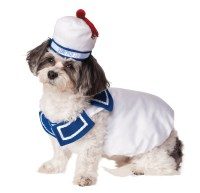 Ghostbusters Stay Puft Pet Costume | BuyCostumes.com