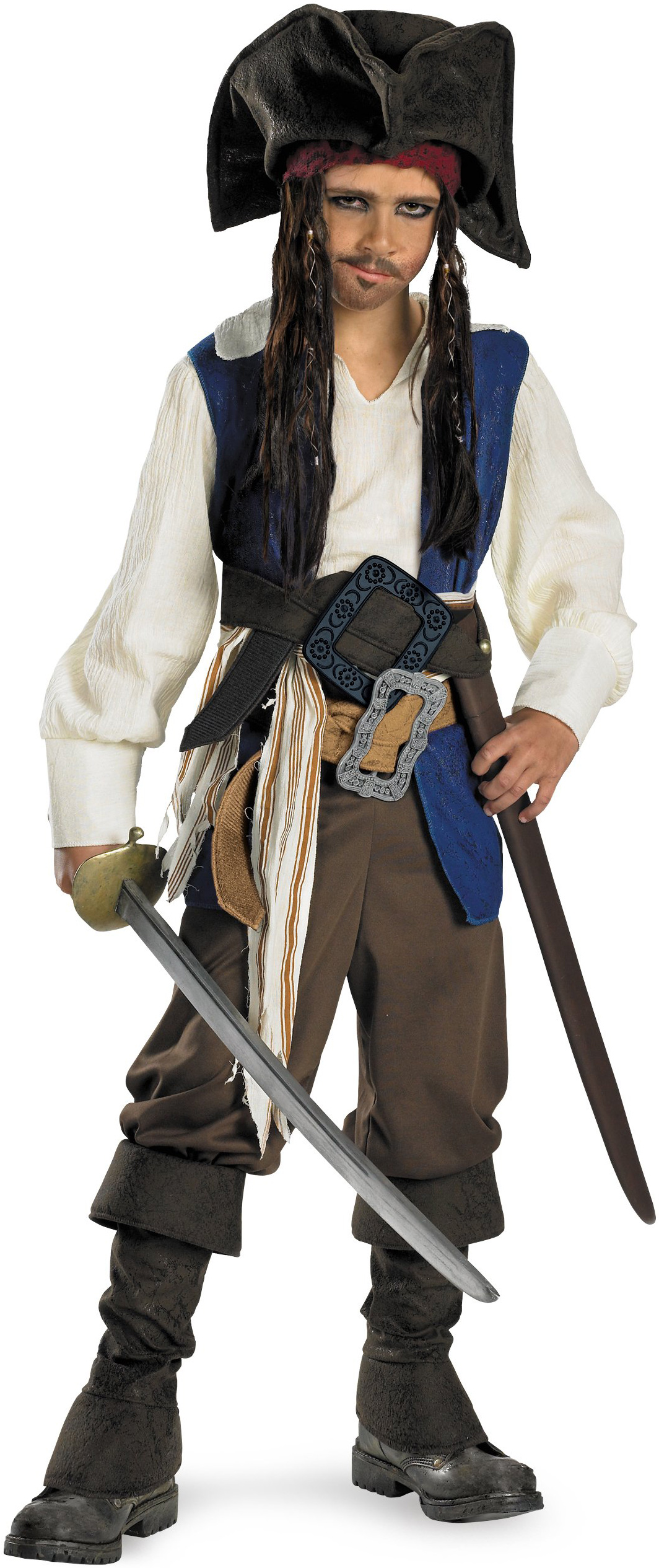 Jack Sparrow Pirate Costume Boys