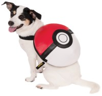 Pokemon Pokeball Backpack Pet Costume | BuyCostumes.com