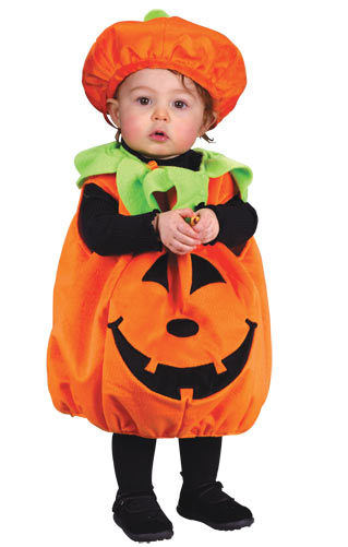 Soft And Comfy Pumpkin Infant Costume Buycostumes