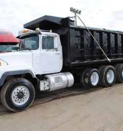 2003 mack rd688s dump trucks [ 1280 x 856 Pixel ]