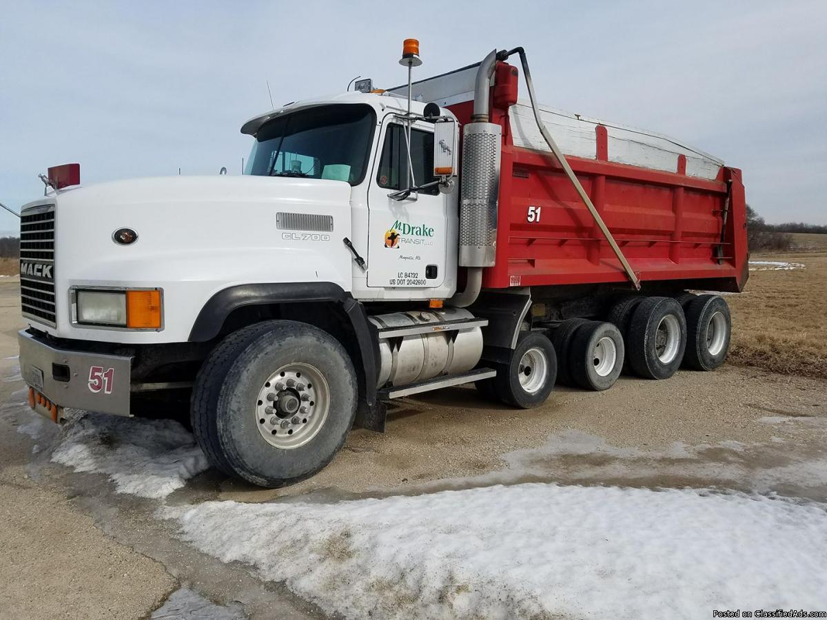 hight resolution of 1998 quad axle mack dump truck