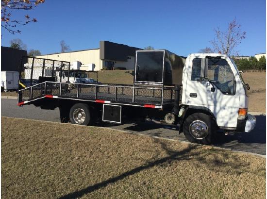25+ Isuzu Flatbed Landscape Trucks Pictures and Ideas on Pro