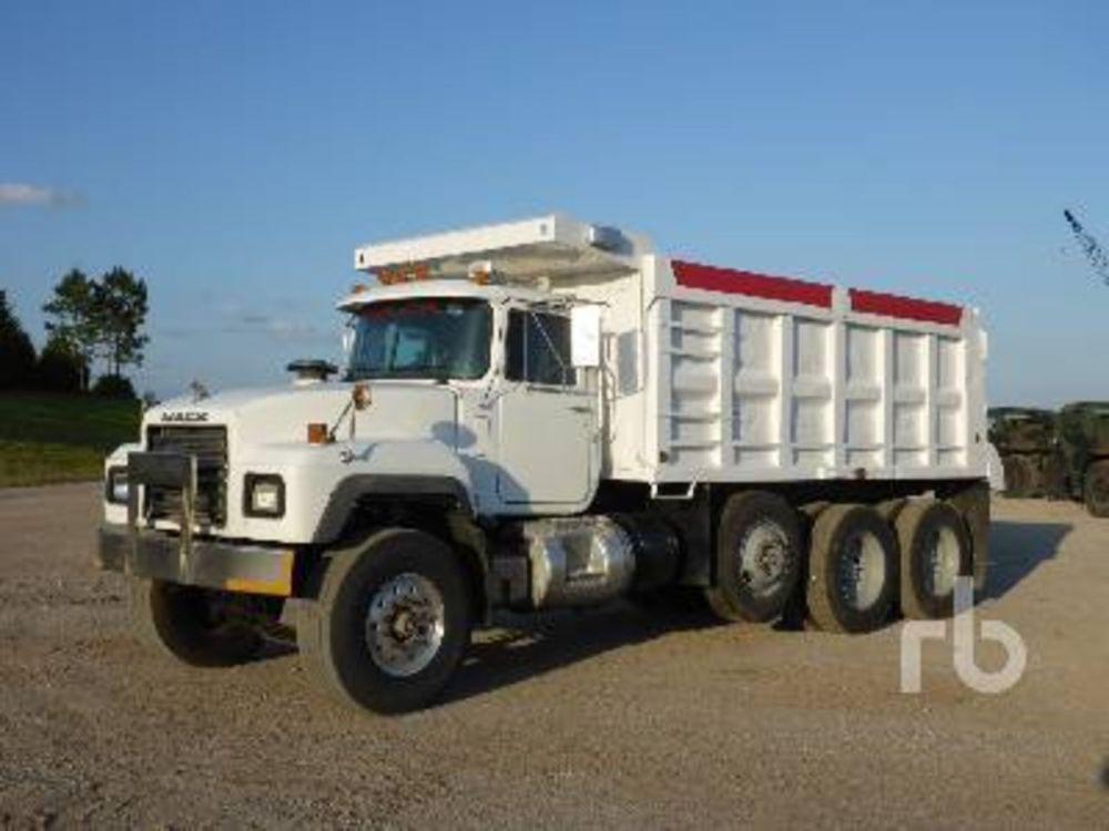 medium resolution of pictures of mack dump trucks