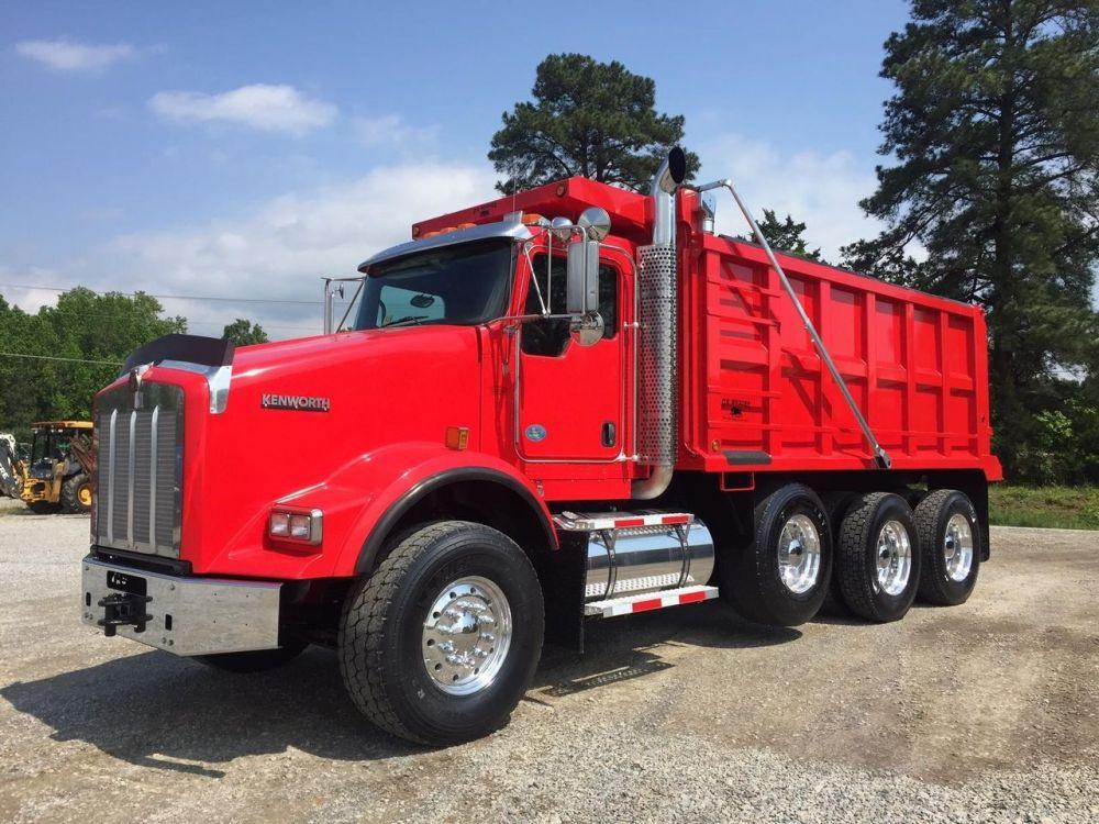 medium resolution of 2010 kenworth t800 dump trucks