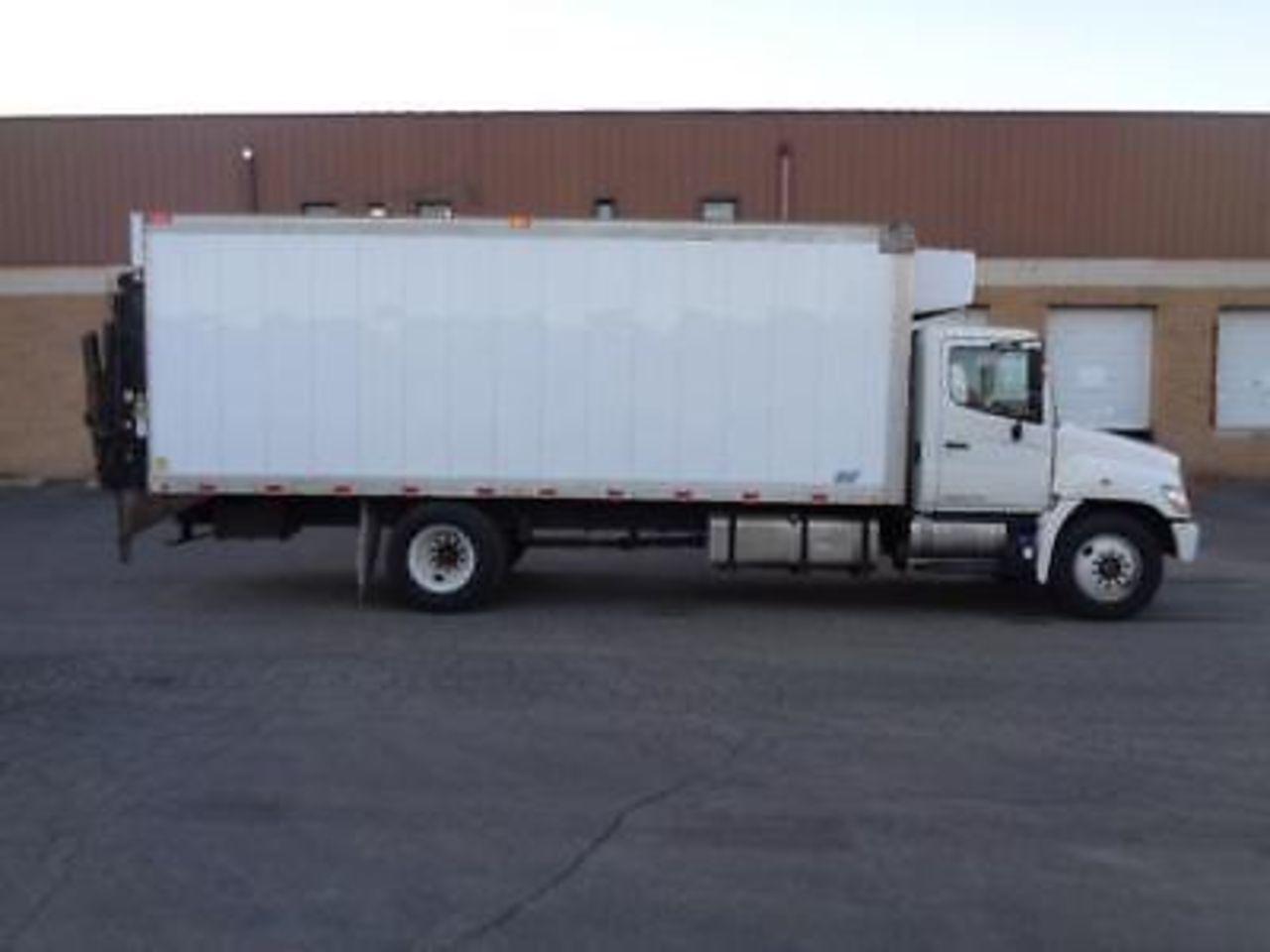 hight resolution of 2012 hino 268 box trucks cargo vans