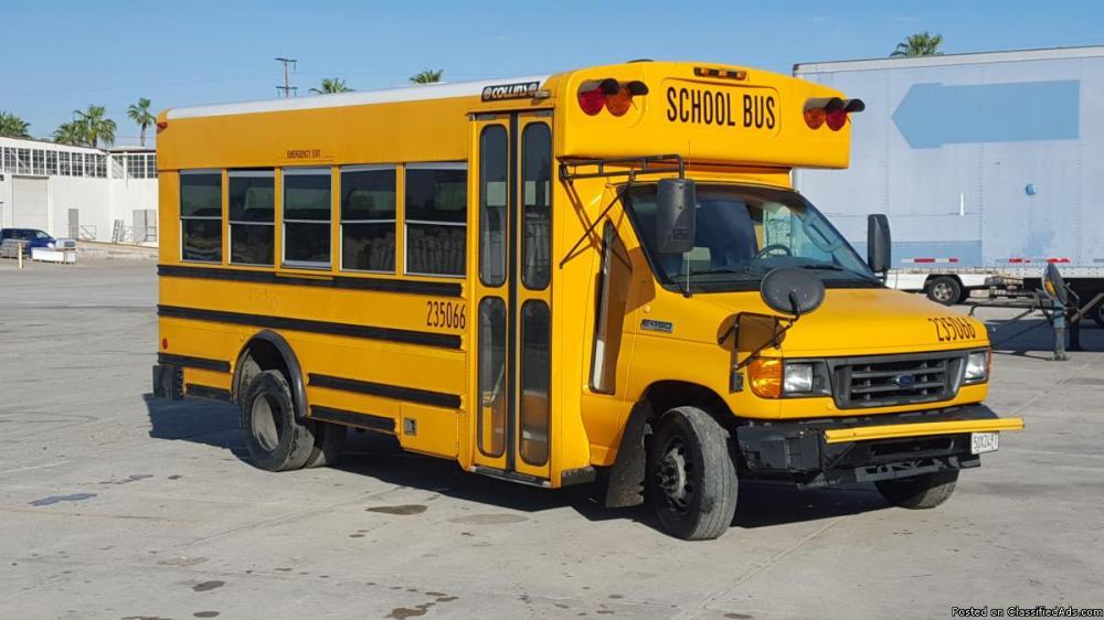 medium resolution of 2006 ford e450 school bus