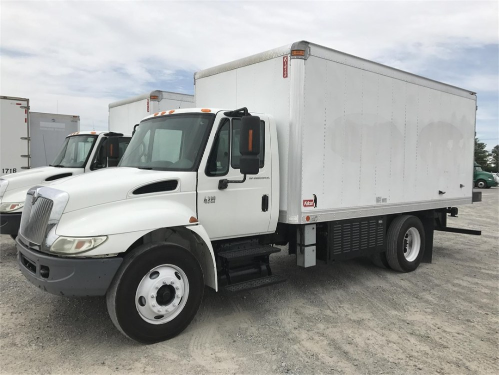 medium resolution of international box trucks for sale pictures