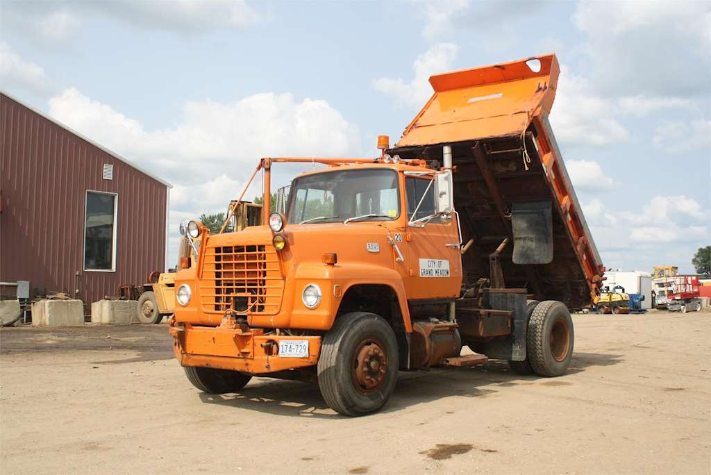 1984 Ford Dump Truck Diagram