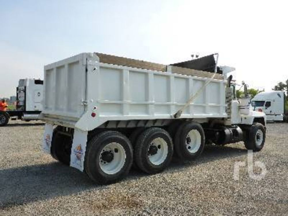 medium resolution of photos of mack dump trucks