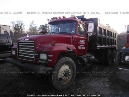 small resolution of 2000 mack rd688s
