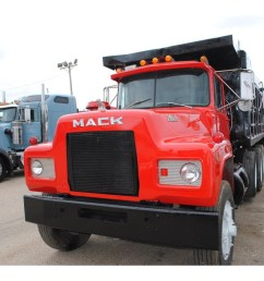 1991 mack r688 dump truck [ 1284 x 962 Pixel ]