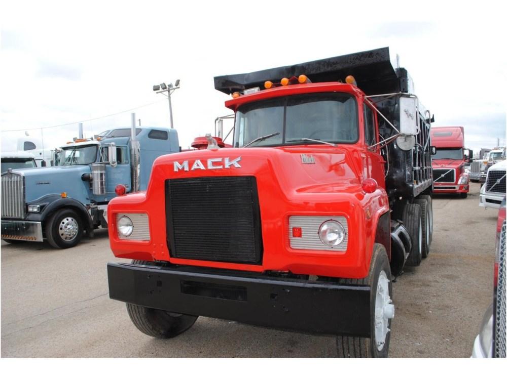 medium resolution of 1991 mack r688 dump truck