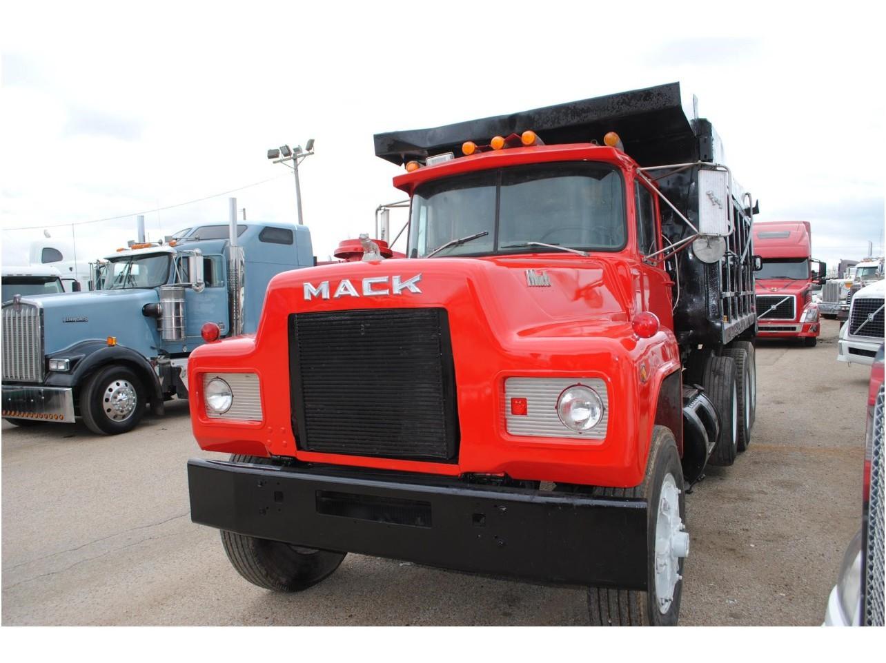 hight resolution of 1991 mack r688 dump truck