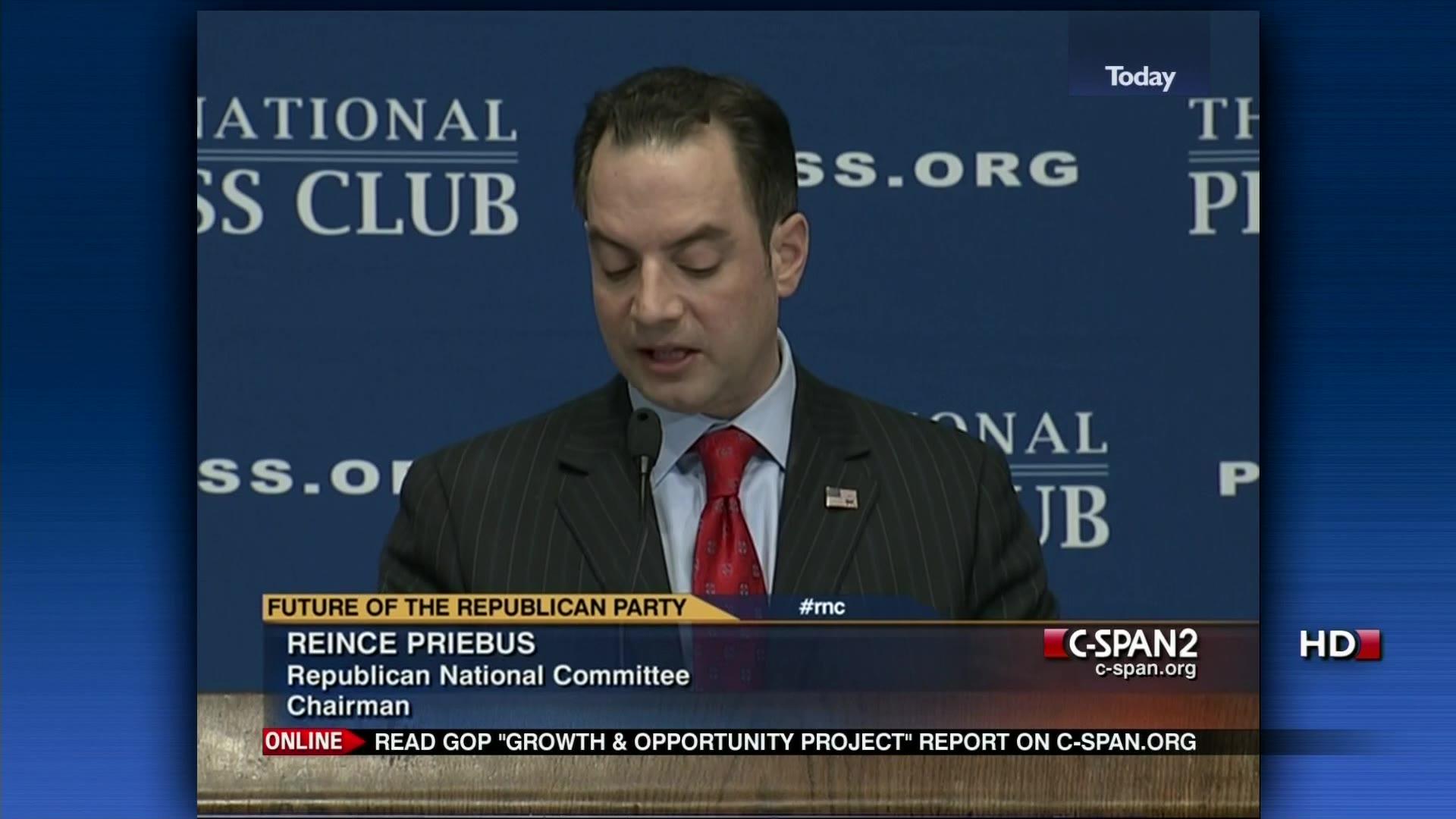 NPC Breakfast Reince Priebus Presidential User Clip C SPAN Org