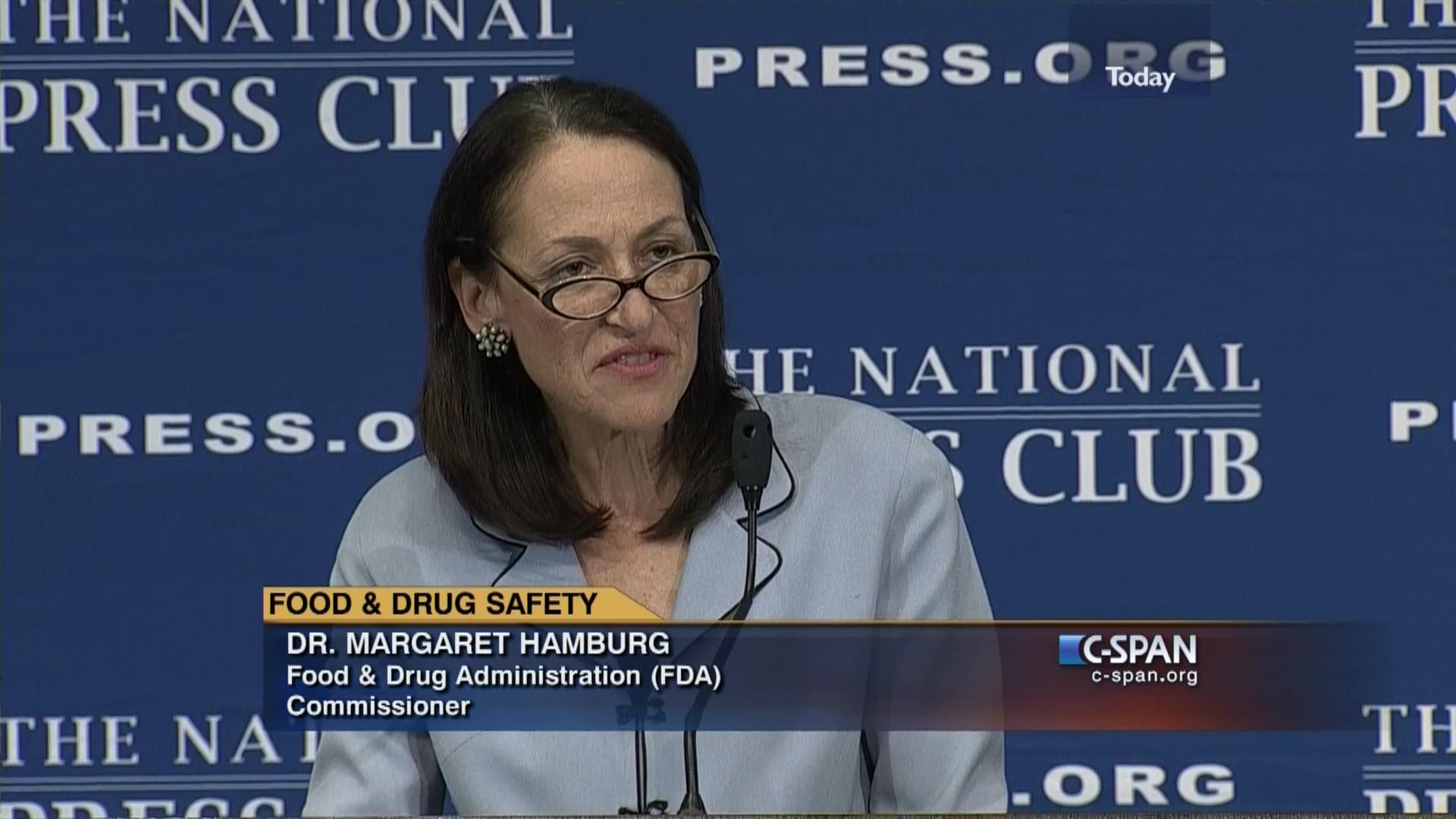 Food Drug Administration Commissioner Margaret Hamburg Keynote