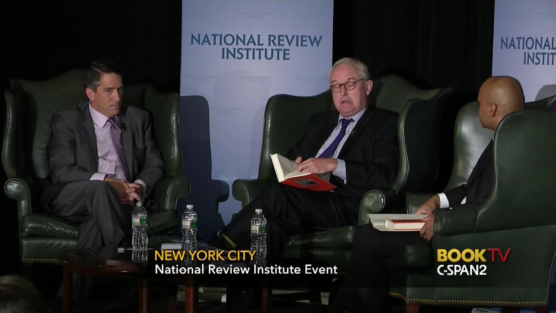 James Rosen Christopher Buckley Discuss Torch Kept Lit C SPAN Org