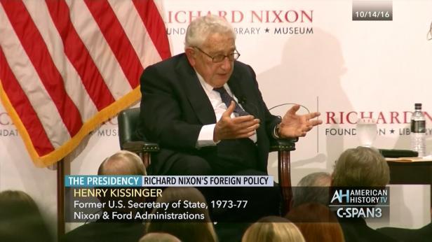 Secretary Kissinger on President Nixon's Foreign Policy | C-SPAN.org