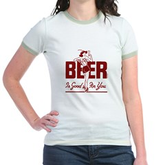 beer is good for you t-shirt
