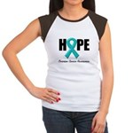 Hope Ovarian Cancer Women's Cap Sleeve T-Shirt