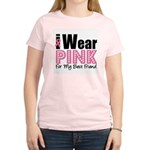 I Wear Pink For My BF Women's Light T-Shirt