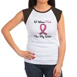 Pink Ribbon Sister Women's Cap Sleeve T-Shirt