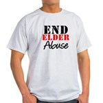 End Elder Abuse Light T-Shirt
