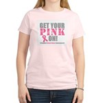 Breast Cancer Get Pink Women's Light T-Shirt