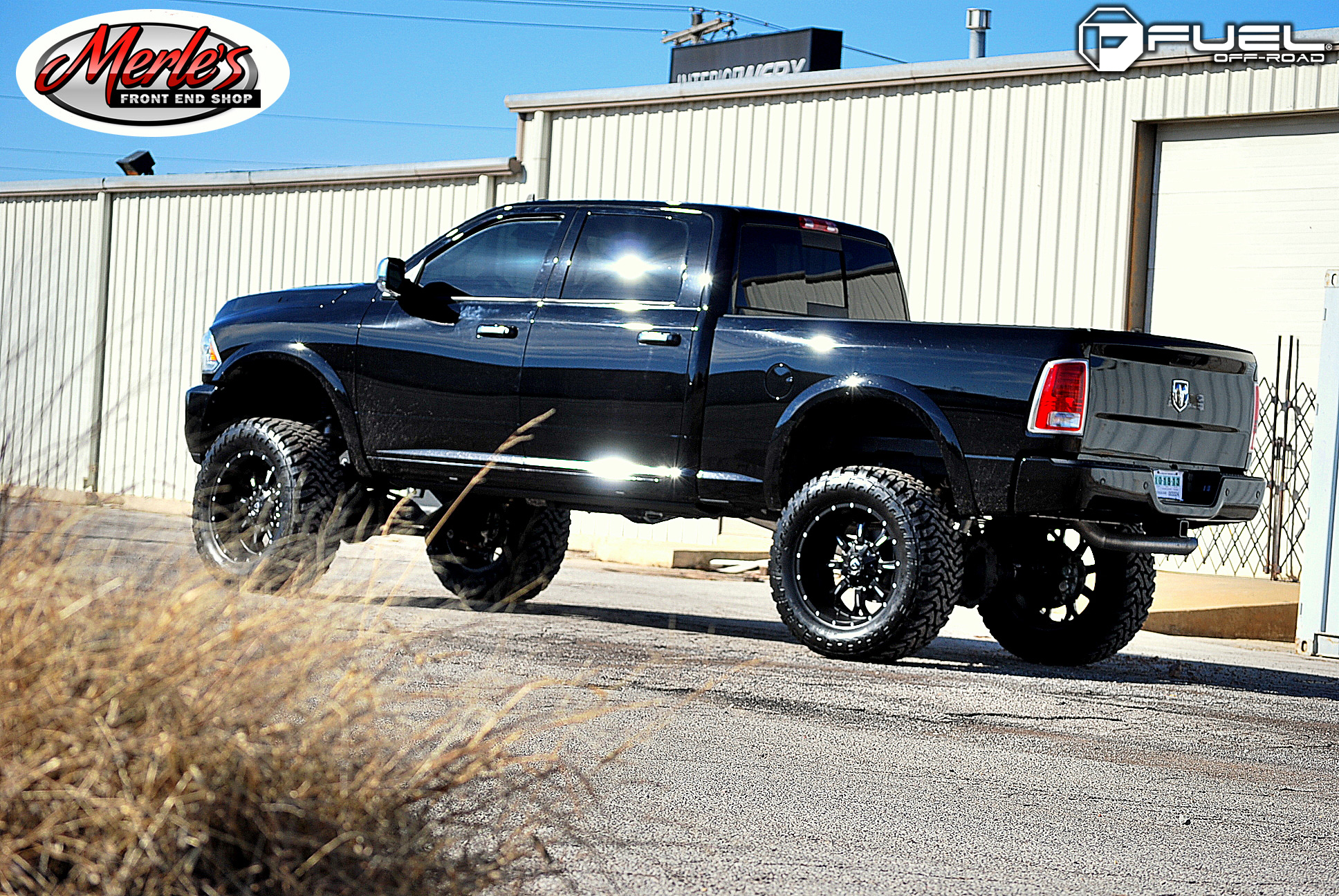 hight resolution of dodge ram 2500 on fuel deep lip krank d517 wheels