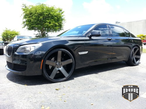 small resolution of bmw 7 series on dub 1 piece baller s116 wheels