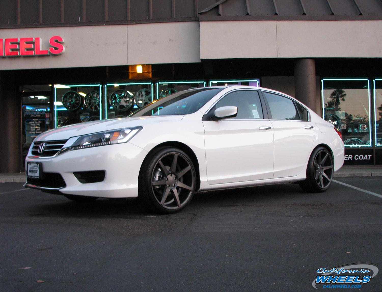 hight resolution of san jose bmw car honda accord on vossen cv7 wheels california wheels