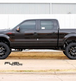 ford f 150 on fuel deep lip octane d509 wheels [ 1723 x 1042 Pixel ]