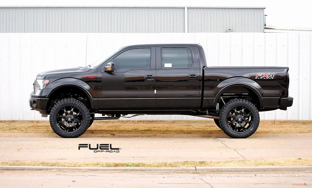medium resolution of ford f 150 on fuel deep lip octane d509 wheels