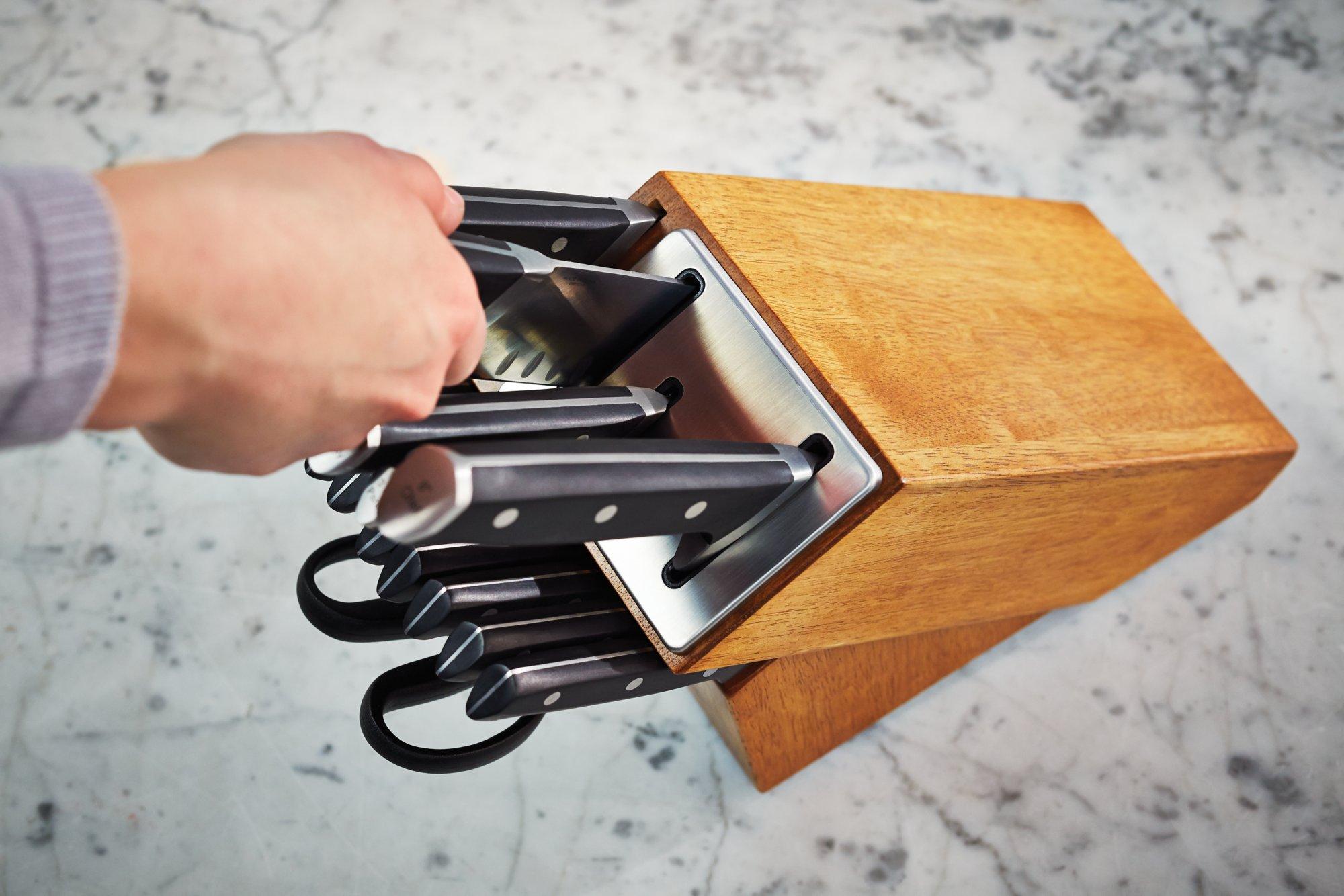 self sharpening kitchen knives buy table knife sets calphalonusastore