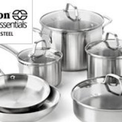 Calphalon Kitchen Essentials Dutch Oven Design A Island Stainless Steel
