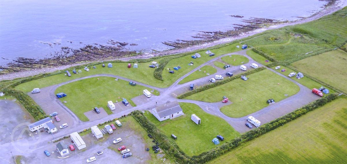 John O'Groats Caravan and Camping Site in John O'groats ...
