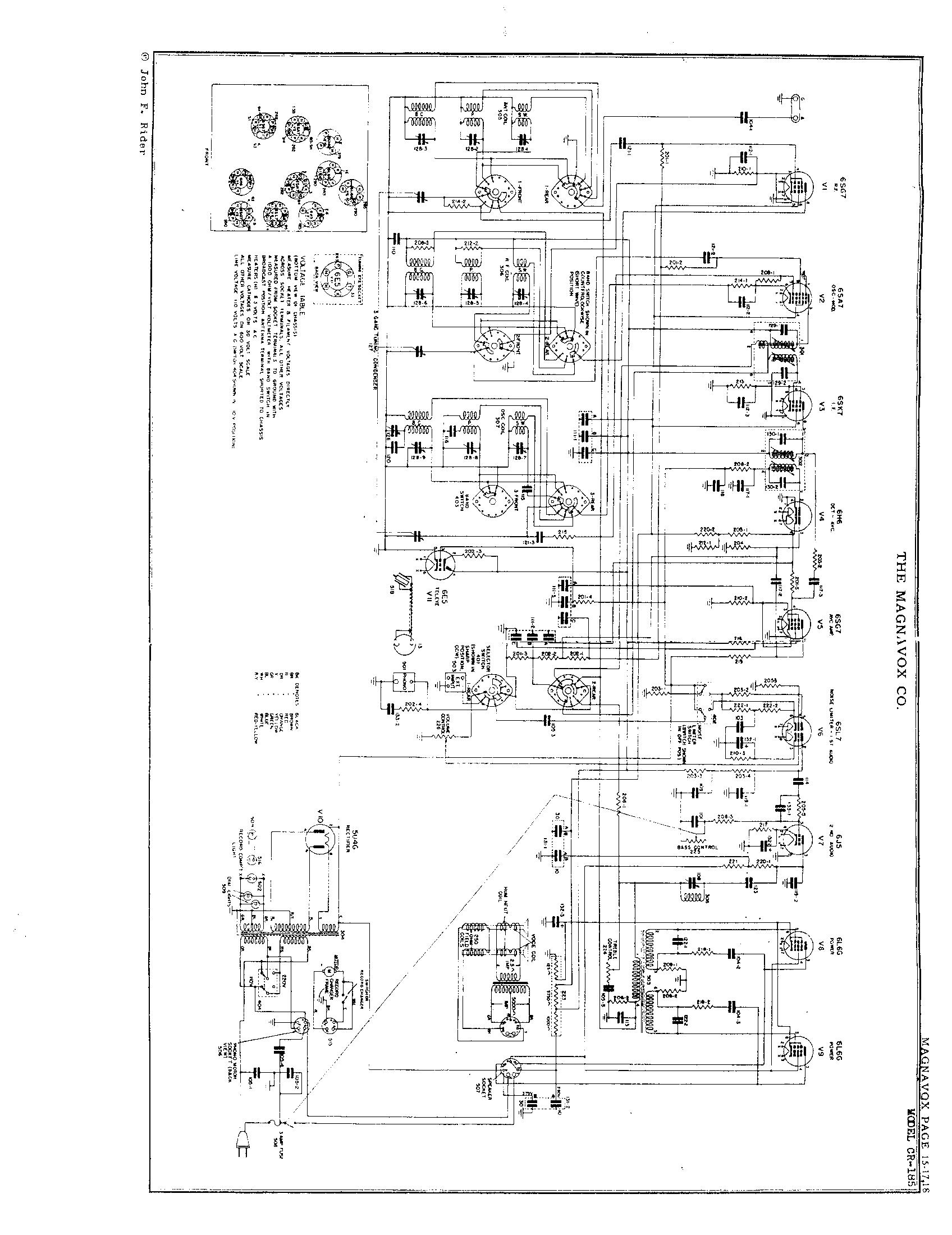 Magnavox Co Cr 183