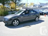 2005 MAZDA MAZDA3 GT W/ ROOF RACK