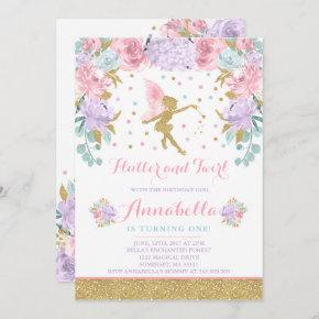 enchanted forest birthday invitations