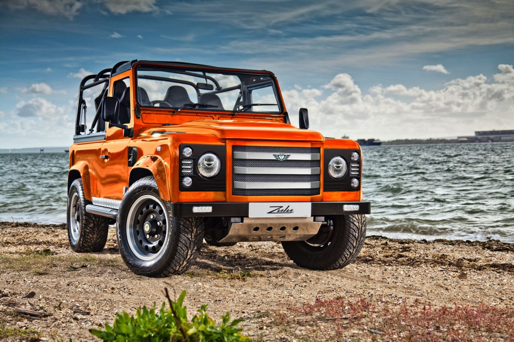 Attack is the best form of Defender meet the 475bhp Zulu² by CAR