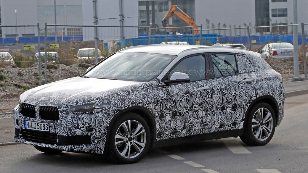 BMW X2 (2017) spied: the niche-filling continues